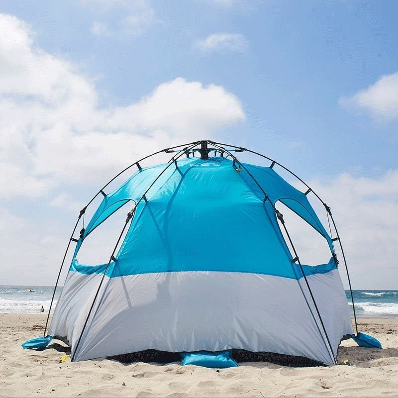 Pop Up Beach Shelters : Lightspeed quick shelter kona pop up tent with front porch